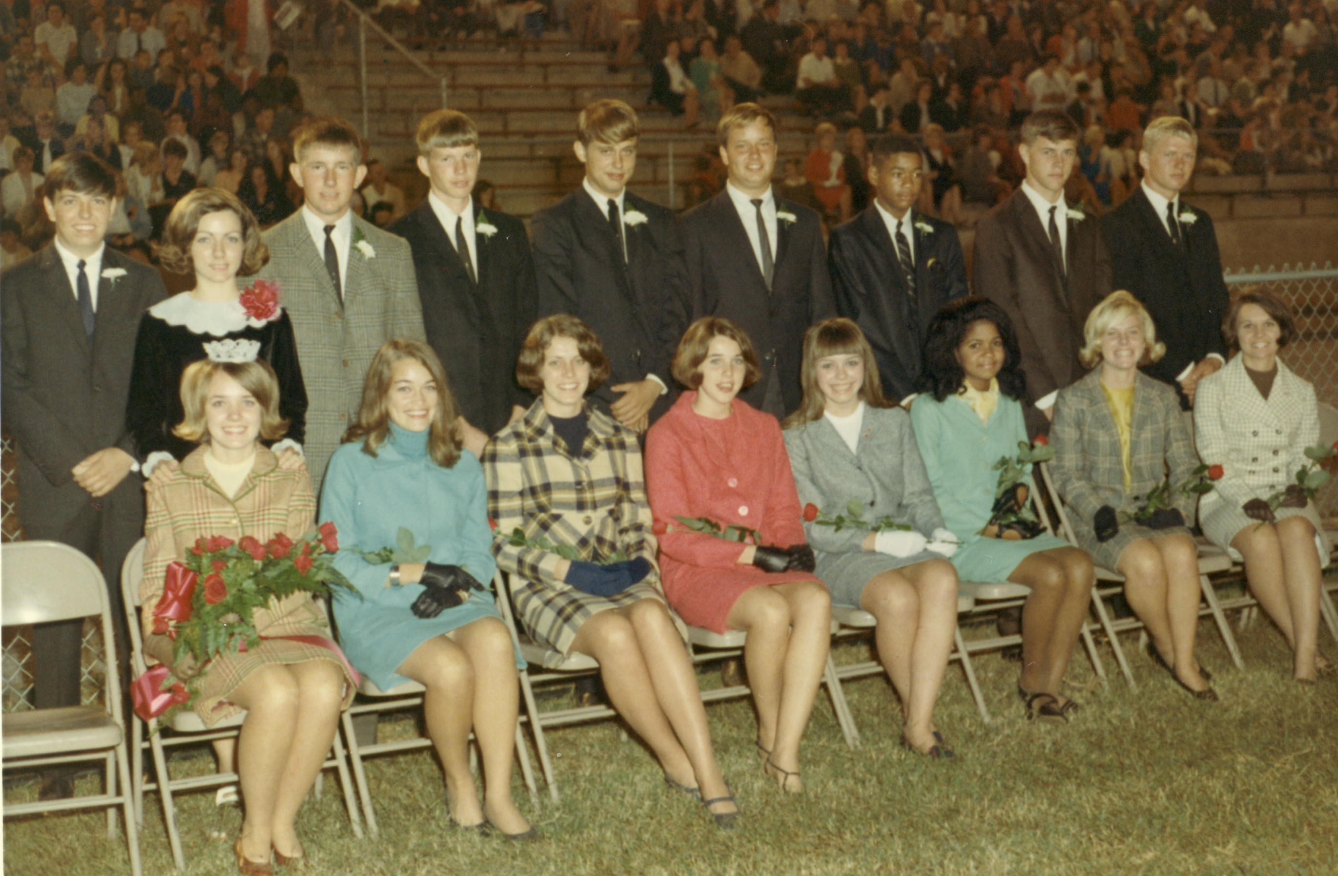 Homecoming court 1967