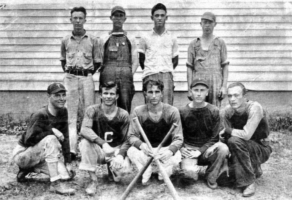 1932 comrades softball team