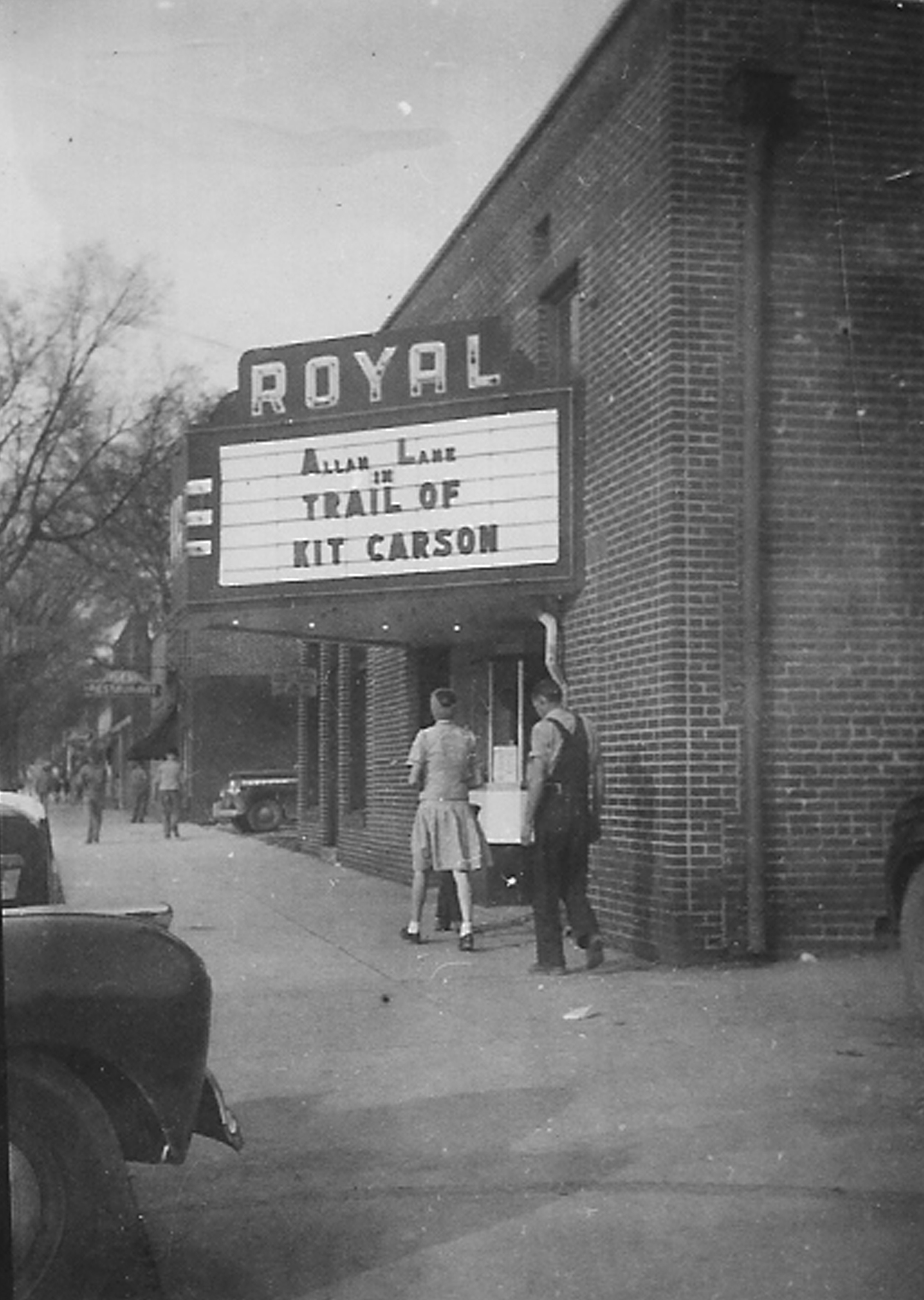 royal theater exterior